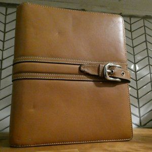 Franklin Covey  Leather Planner RARE HOLE PUNCH